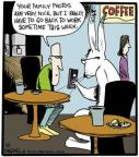 Comic Strip John Deering  Strange Brew 2013-05-01 rabbit