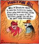 Comic Strip John Deering  Strange Brew 2016-11-15 hell