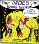 Comic Strip John Deering  Strange Brew 2017-03-17 hell