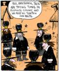 Comic Strip John Deering  Strange Brew 2017-11-20 hat
