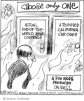 Comic Strip John Deering  Strange Brew 2007-09-22 media coverage