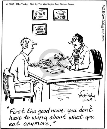 Bad news comic strip