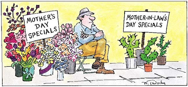 mothers day comic strip 2007
