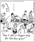Comic Strip Mike Twohy  That's Life 2005-11-25 etiquette