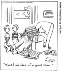 Comic Strip Mike Twohy  That's Life 2007-11-01 relax