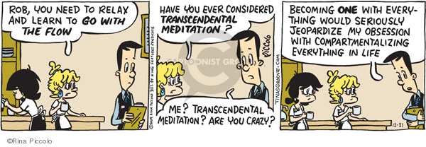 comic strips Transcendental